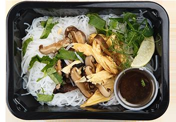 Салат из фучжу с шиитаке