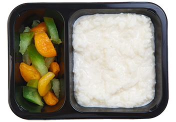 Рисовая каша с курагой и цукатами помело